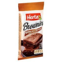 Brownies Pépites de Chocolat 15 Pièces