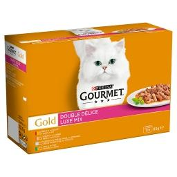 Gold double délice - chats adultes - boeuf poulet, l...