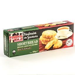 Shortbread biscuit sablé pur beurre - 9 pièces - 150...