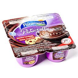 Crème dessert chocolat - goût cookies