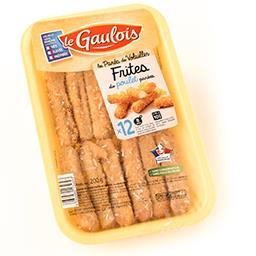 Frites de poulet pané