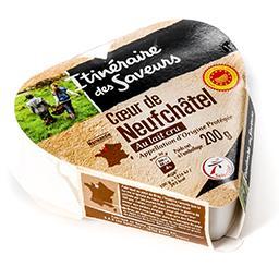 Cœur de neufchâtel aop - fromage au lait cru