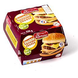 Hamburger double cheese