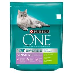BIFENSIS® Sensitive Chat Riche en Dinde et Riz 800 g
