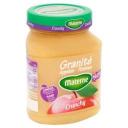 Granité Pommes Crunchy Sans Sucres Ajoutés
