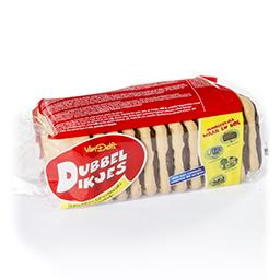Biscuits de blé au chocolat enrichis en calcium-vita...