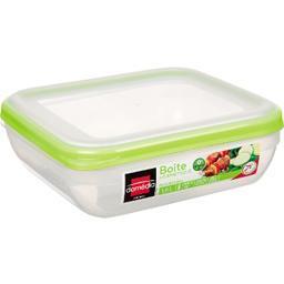 Kitchen - Boite hermétique carrée verte 1,6 L