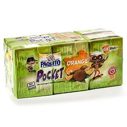 Pocket - jus d'orange à base de concentré