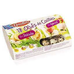 Oeufs de cailles - en salade - en apéritif - prêt à ...