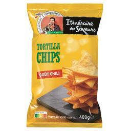 Chips tortilla goût chili - saveur du mexique