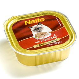 Aliment complet pour chat - au bœuf - les terrines p...