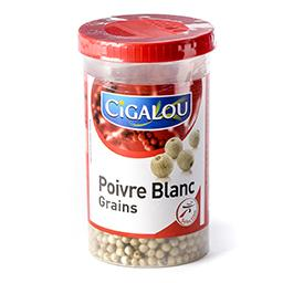Poivre blanc en grains