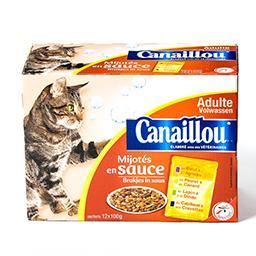 Repas complet pour chats adultes - mijotés en sauce