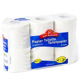 Papier toilette - 4 épaisseurs