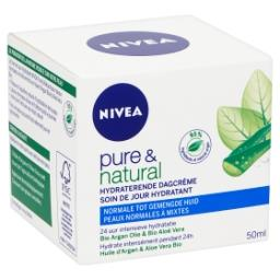 Pure and natural - soin de jour hydratant - huile d'...