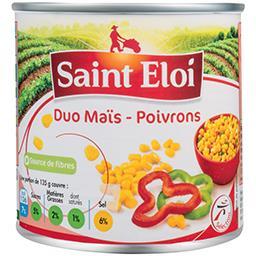 Duo maïs-poivrons