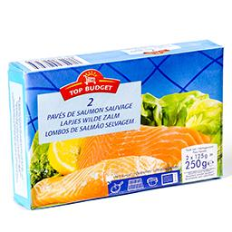 Pavés de saumon sauvage