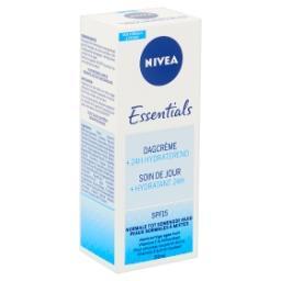 Essentials Soin de Jour +Hydratant 24H SPF15 Peaux N...