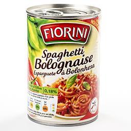 Spaghetti bolognaise - à l'huile d'olive 0,18%
