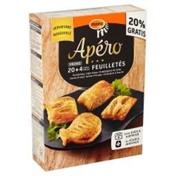 Apéro Feuilletés Viande de Bœuf, Jambon-Fromage, Cha...