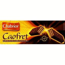 Caofret, gaufrettes fourrées enrobées de chocolat fi...