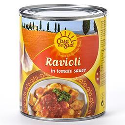 Ravioli avec sauce tomates