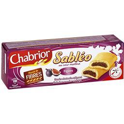 Biscuits Sabléo au cSur moelleux figues