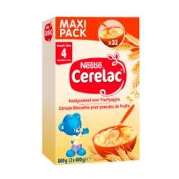Céréale Biscuitée pour Panades de Fruits dès 4+ Mois...