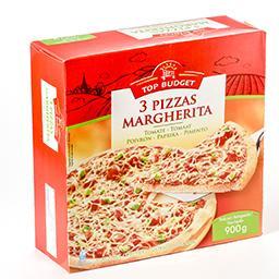 Pizza margherita tomate poivron