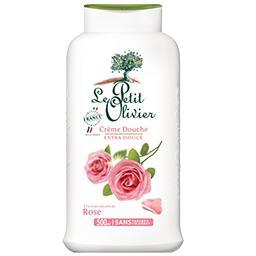 Crème douche extra douce rose