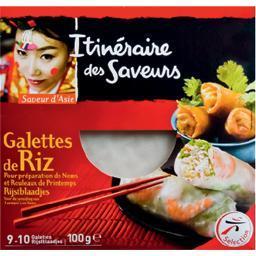 Galettes de riz - saveur d'asie