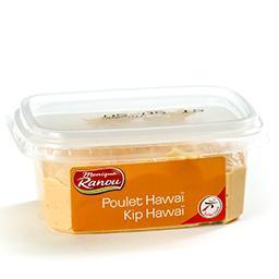 Salade de poulet hawaï