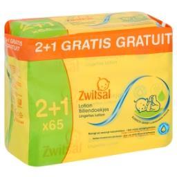 Lingettes Humides Lotion (2 + 1 Gratis)