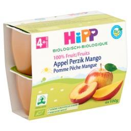 Biologique Pomme Pêche Mangue 4+ Mois