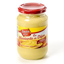 Moutarde de dijon - forte et onctueuse