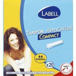 Tampon avec applicateur normal compact