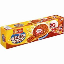 Kid hero, céréal'choc, biscuits sablés au chocolat a...