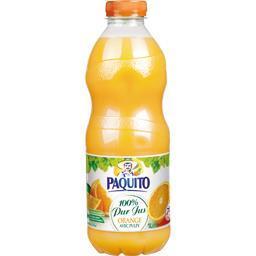 Jus d'orange avec pulpe 100% pur jus