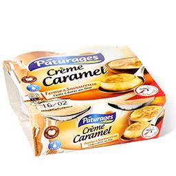 Crème caramel - au lait entier