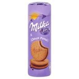 Choco pause - biscuits fourrés au chocolat au lait
