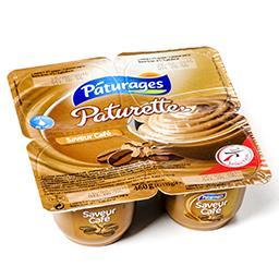 Paturette - crème dessert saveur café