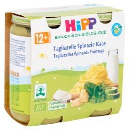 Bio Tagliatelles Épinards Fromage 12+ Mois