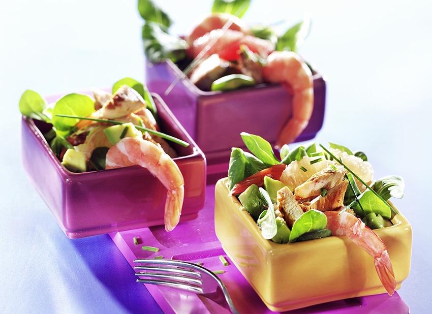 Salade en été