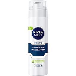 Nivea Nivea Men Mousse à raser peau sensible la bombe de 200 ml