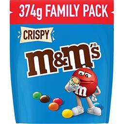 M&M's M&M's Bonbons chocolat Crispy la poche de 374 g