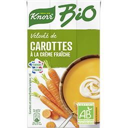 Knorr Knorr Velouté BIO carottes à la crème fraîche la brique d'1l