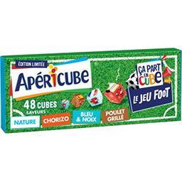 Apéricube Apéricube Fromage fondu apéritif best of des saveurs la boite de 48 cubes - 250 g