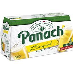 Panach' Panach' L'Original - Bière panaché les 10 bouteilles de 25cl
