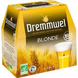 Dremmwel Dremmwel Bière BIO les 6 bouteilles de 25 cl