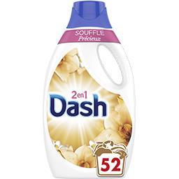 Dash Dash Lessive liquide souffle précieux 33lavages La bouteille de lessive de 2.6l